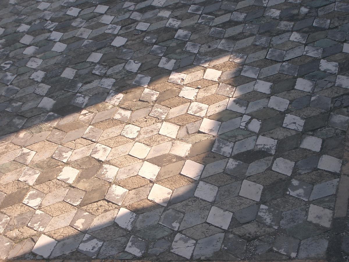 erhaltene Mosaike in Pompeji