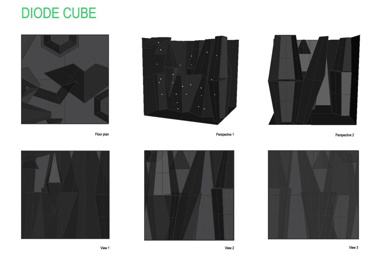 63 I diode cube