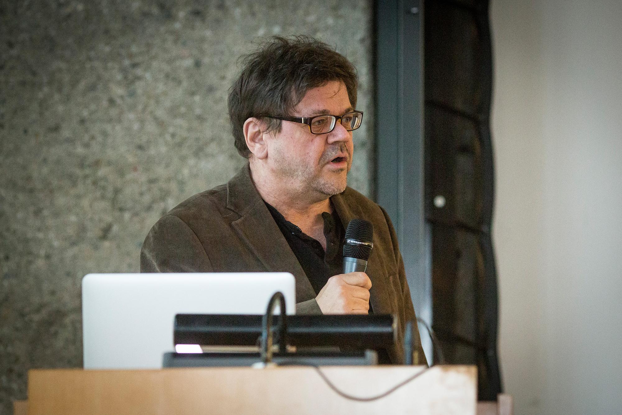 """Vortrag aus der Reihe """"Architectural Tuesday"""" mit Prof. Luigi Snozzi am 28.04.2015 im Karl-Schüßler-Saal der FH Köln, """"Es lebe der Widerstand"""""""