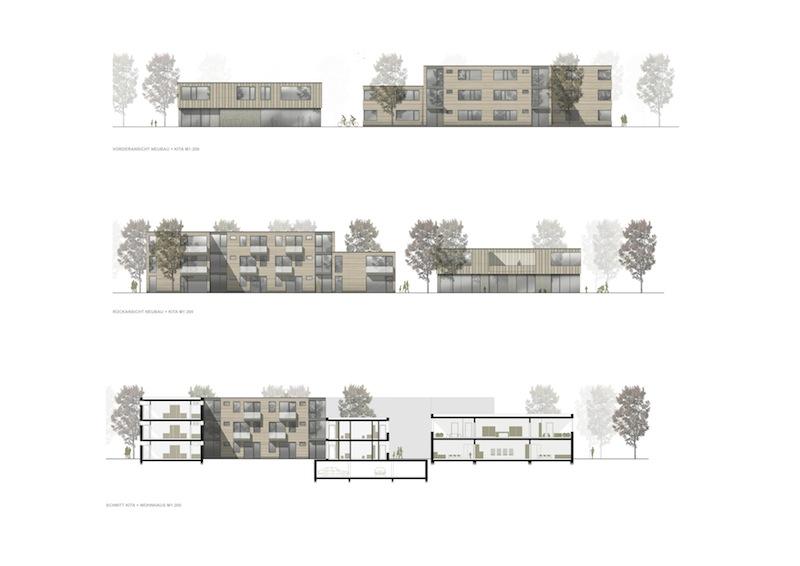 Q68 aachen_Ansichten Neubau