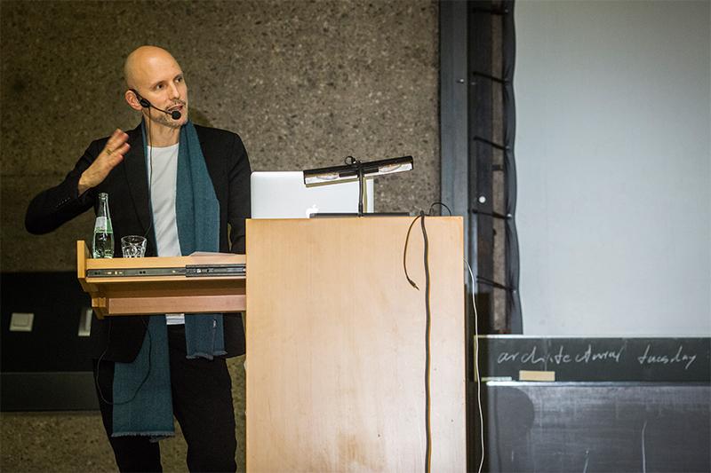 architectural tuesday am 01.12.2015: Andreas Bründler vom Architekturbüro Buchner Bründler