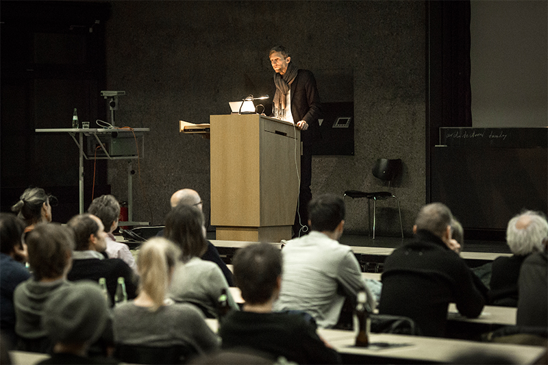 Architectural Tuesday am 12.01.2016: Christian Gantenbein vom Architekturbüro Christ und Gantenbein über Konsequenz