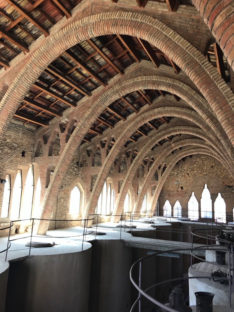 Weinkathedrale, El Pinell de Brai