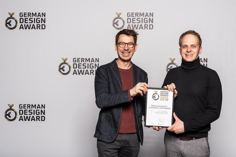 Professor Dr. Claus Stieve und Bernd Ullrich
