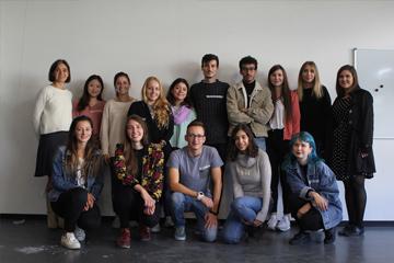 Gruppenfoto der Austauschstudierenden