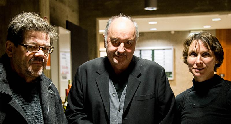 Prof. Andreas Denk, Paul Robbrecht und Sabine Schmidt