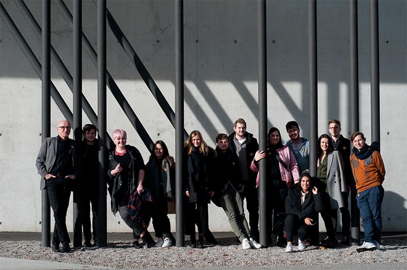 Masterstudierende der Vertiefung Corporate Architecture mit Prof. Jochen Siegemund
