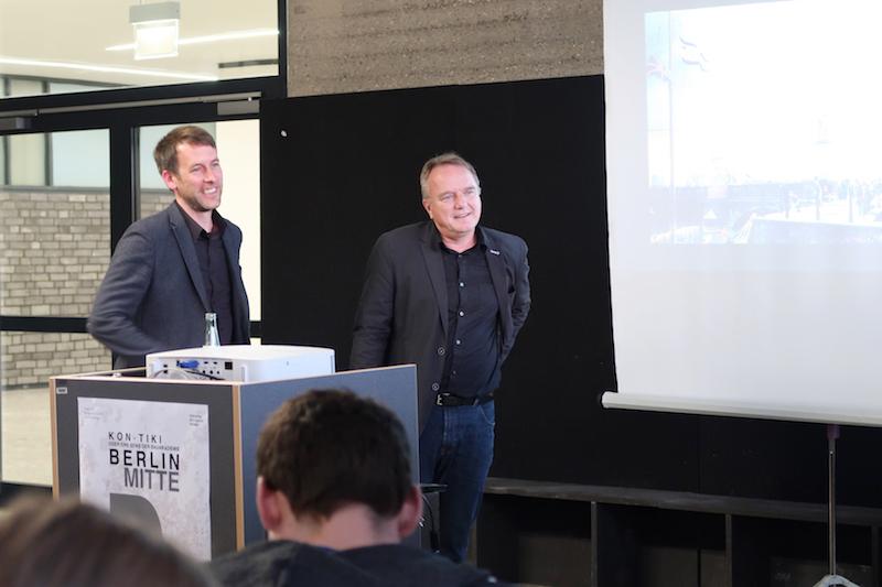 Prof. Dr. Daniel Lohmann und Prof. Dr. Christian Raabe