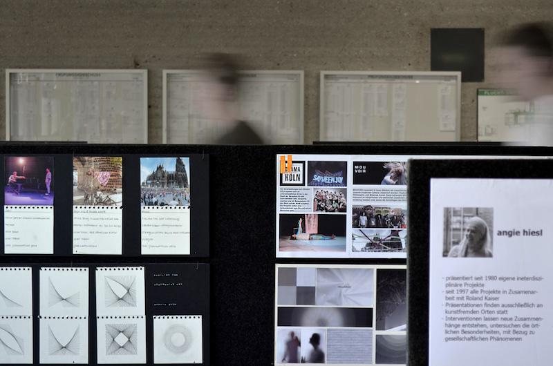 Ausstellung der Arbeiten zu Cologne Concept Pavilion 2018