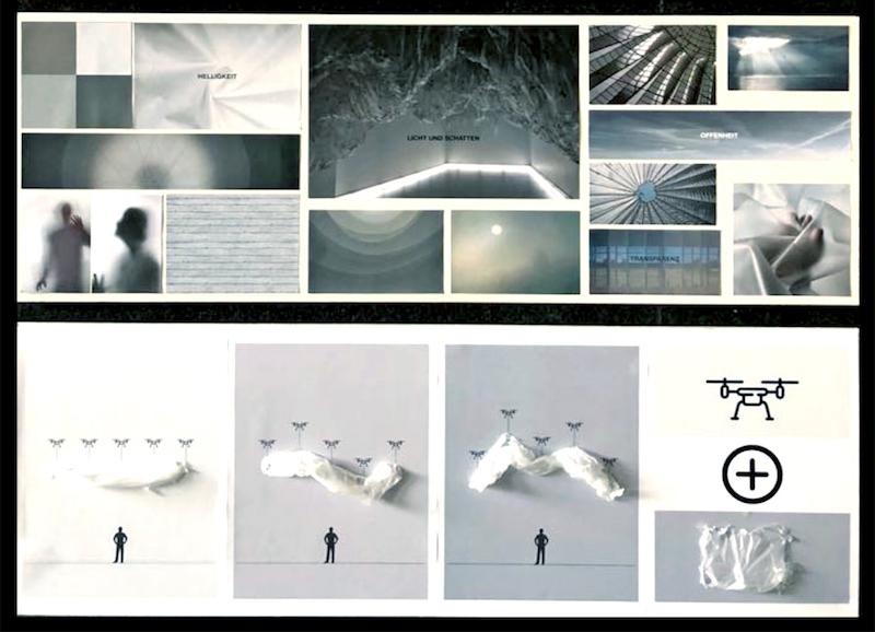 Foto der Arbeit des Studenten Tom Böhm