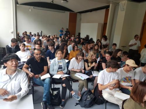 Teilnehmer der Workshopwoche