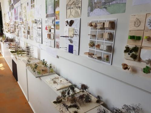 Ausstellung der Ergebnisse