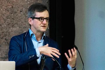 Prof. Dr. Jörg Gleiter beim architectural tuesday