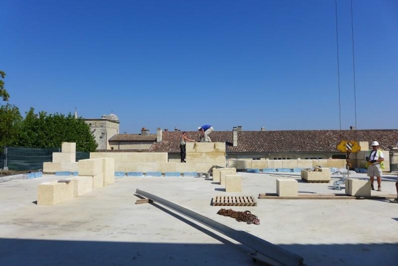 Alcazar Château Lafite - Baustelle