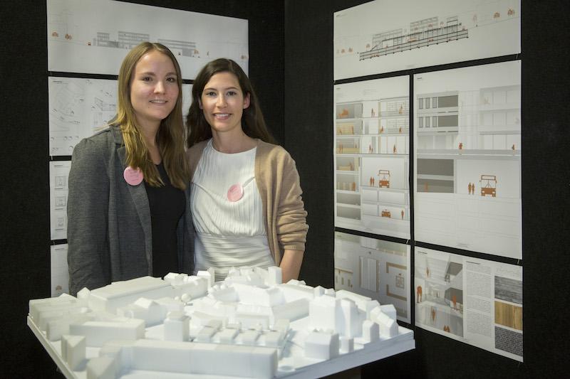 v.l. Christina Körber und Donata Wirtz