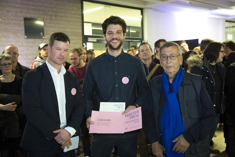 v.l. Dekan Prof. Rüdiger Karzel, Christian Schramm, Ulrich Findeisen
