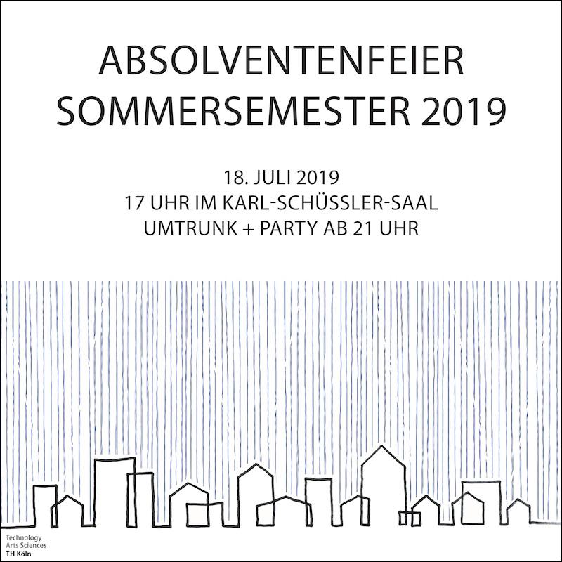 Absolventenfeier Sommersemester 2019